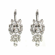 Crystal Princess Clear Crystal Earrings Made with SWAROVSKI® Crystals