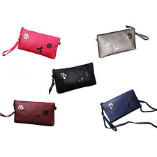 Fashion Women PU Clutch Shoulder Messenger Evening Bag Fish Scale Handbag SPUS