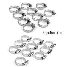 10PCS CARS MOTORCYCLE FUEL LINE JUBILEE HOSE CLAMP PETROL PIPE CLIPS 8mm-76mm