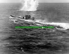 U-848 German Navy Submarine Black n White Photo Navy Military 1943 Attack WW2