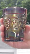 Northwood , Grape And Cable , Carnival Glass , Tumbler , NY Estate