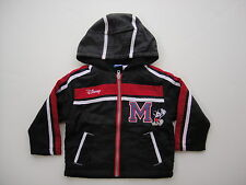 new MICKEY MOUSE BOYS HOODIE ZIPPING JACKET SIZE 12M & 4