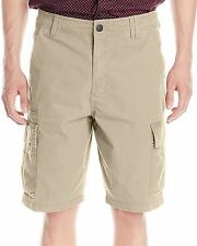 New BILLABONG Men's Bone Beige Casual Scheme Cargo Shorts Walkshort $54