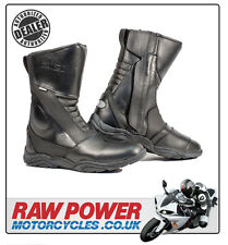 Richa Zenith Waterproof Motorcycle Motorbike Boots - Black