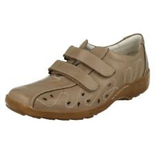 Ladies Remonte Causal Extra Wide Fitting Flat Shoes D0506