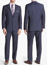 NWT $895 Hugo Boss Black Label Super 110 Italian Wool Luxurious Business Suit