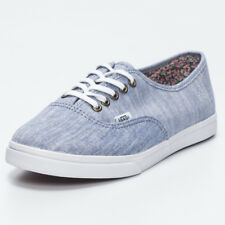 Vans Womens Authentic LoPro Shoes in Blue