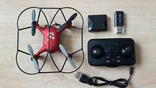 Propel Neutron Quadcopter Remote Controlled Drone A95TL Red with Camera 2.4GHz