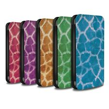 PU Leather Case/Cover/Wallet for Apple iPhone 5/5S/Giraffe Animal Skin/Print