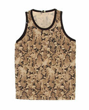 Imperious Men's Allover Animal Print Pocketed Tank Top