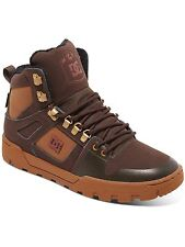 DC Brown-Brown-Red Spartan High Boots