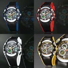 OHSEN Mens Date Alarm Chronograph Quartz Digital Light Sport Wrist Watch Gift
