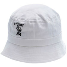 Stussy Scoop Bucket Hat in White