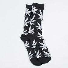 Huf Womens Plant Life Crew Sock Pack  in Black