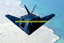 USAF  F-117 Nighthawk Stealth Fighter Color Photo Military Aircraft F 117