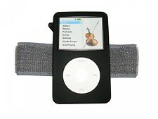 BLACK Sports Armband and Silicone Skin Case Cover for Apple iPod Classic 80GB 12