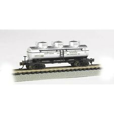 Bachmann 17153 N-Scale 3-Dome Tank Car Northern California Wineries #6302