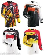 MX Motocross Jersey Thor Phase  Yellow, Red, Orange       S, L - 3XL    Sale