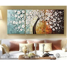 100% Hand Painted Art Wall Decor Oil Painting Abstract On Canvas Wood Framed