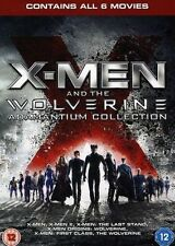 X men And The Wolverine Adamantium Collection DVD Box Set New Blu Ray.. 6 Movies