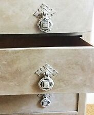 Vintage Chest of Drawers hand painted in Annie Sloane French Linen