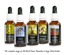 BACH FLOWER ESSENCES ALCOHOL FREE Preserved Remedies nonalcoholic glycerine 30ml