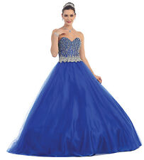 TheDressOutlet Long Quinceanera Formal Prom Dress Ball Gown