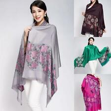 New Double Side Pashmina Shawls Wraps Scarves Scarf Colorful Fashion for Women