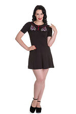 Hell Bunny Honesty Mini Skater Gothic Alternative Dress Size XS - XL