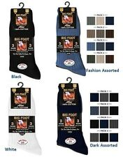 Mens Aler™ Big Foot 100% Cotton Socks - Size 11 - 14