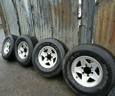 Toyota hilux alloy wheels with tyres