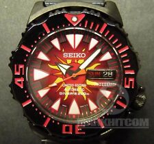 SEIKO The SUN MONSTER 10th ANNIVERSARY LIMITED EDITION SRP459 4R36 diver watch