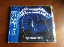 Metallica Ride The Lightning japan first press (25DP 5340) NEW Factory SEALED!