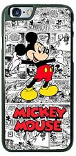 Disney Mickey Mouse B&W comic Phone Case Cover for iPhone Samsung LG Gift