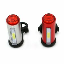 USB Rechargable 7 Modes LED Bicycle Bike Cycling Rear Tail Light Warning Lamp