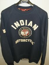 Men's Indian Motorcycle IMC Raglan Sweatshirt NWT