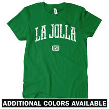 La Jolla 858 California Women's T-shirt S-2X - Gift San Diego Beach Surfing Surf