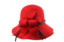 NEW pepper Vintage 100% pure wool hat and Hat Lady ceremony autumn and winter