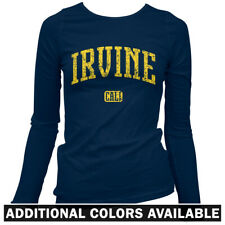 Irvine California Women's Long Sleeve T-shirt - LS S-2X - Gift University UC UCI