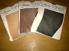 VINTAGE STOCKINGS LOVE SHEER RHT ARISTOC ? 3 PAIR LOT SEAM FREE TANGO 15D COLOUR
