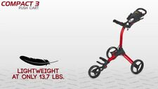 NEW BAGBOY COMPACT 3 PUSH CART. CHOOSE YOUR COLOR!!!