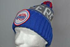 NEW ERA LOS ANGELES CLIPPERS CIRCLE KNIT SKULLY CAP HAT NEW WINTER HAT AUTHENTIC