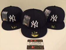 KITH NEW ERA NY YANKEES CLASSIC FITTED CAP HAT 59FIFTY [SIZE 7 1/8] MLB NAVY MET