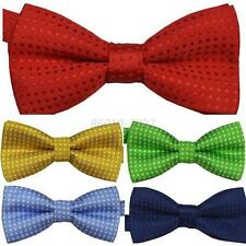 Baby Toddlers Clip-on Strap Bow tie Kids Pre Tied Wedding Party Bow Tie Necktie