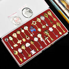 25x newest Fairy Tail Lucy Cosplay Key&Pendant Necklace Keychain+box Xmas Gift #