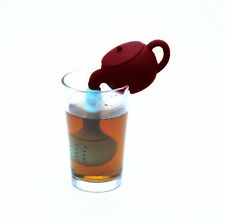 2pcs New Silicone Herbal Fashion Teapot Strainer Filter Spice Hot Teapot