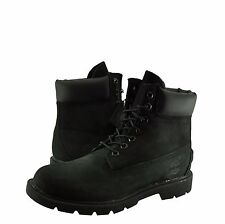 Authentic Men's Shoes Timberland Basic 6 Inch Waterproof Boots 19039 Black *New*