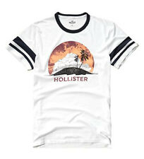 Nwt Hollister By Abercrombie Mens Graphic T Shirt White 2016