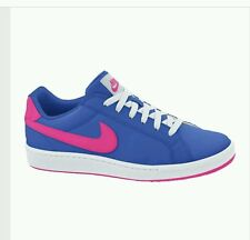 NIKE  WOMEN'S SHOES RUNNING TRAINING SNEAKERS ATHLETIC TENNIS BLUE NEW