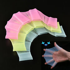 Good Silicone Swimming Fins Hand Webbed Flippers Swim Gear Training Gloves  bos